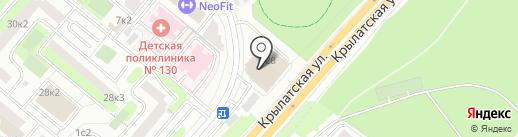 Юсм Эдвайзорс на карте Москвы