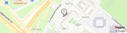 Посольство Доминиканской Республики в РФ на карте Москвы