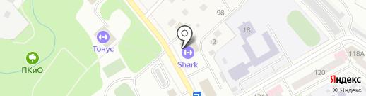 Буревестник на карте Чехова