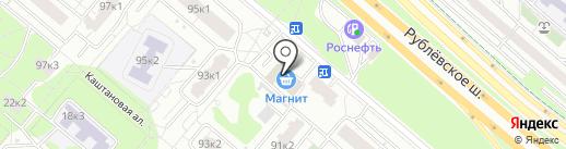 Fix Price на карте Москвы