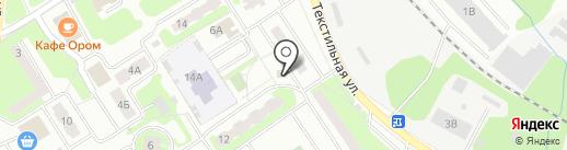 Викинг на карте Лобни