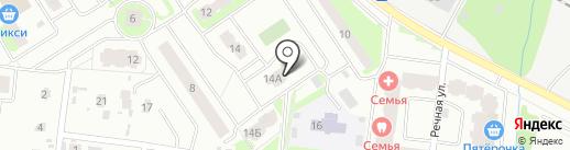 Бегемотик Тоша на карте Лобни