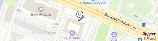 Акар Групп на карте Москвы