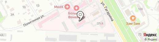 Аэродар-Мед на карте Чехова
