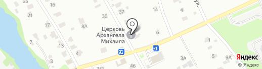 Храм Архистратига Михаила на Красной поляне на карте Лобни