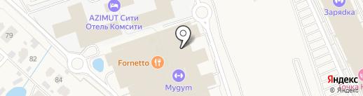 Аквариус на карте Румянцево
