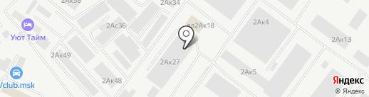 Барвекс на карте Химок