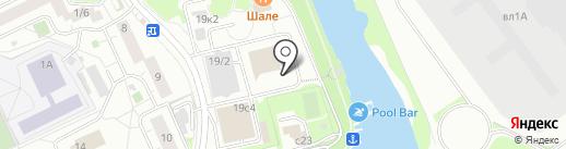 Дома Подмосковья на карте Химок