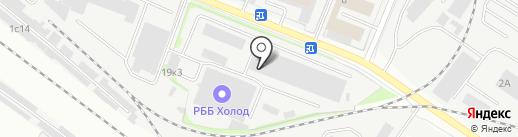 Колор Авто на карте Химок