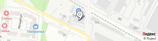 Поляна-Авто на карте Лобни