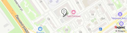 НПОстрой на карте Химок