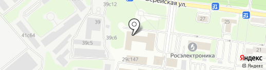 Мебрест на карте Москвы