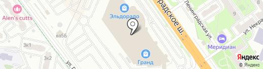 Мир Фантазий на карте Химок