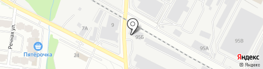 Олвуд на карте Лобни