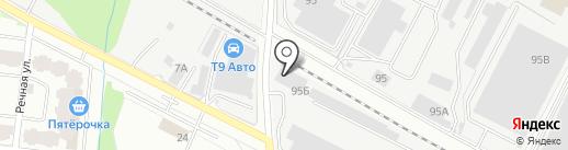 Спецсталь, ЗАО на карте Лобни