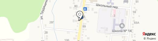 Модус-В на карте Анапы
