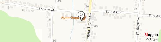 Арин-Берд на карте Анапы