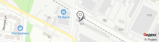TK RAPID на карте Лобни