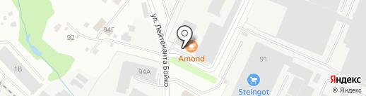 Голден Фридж на карте Лобни