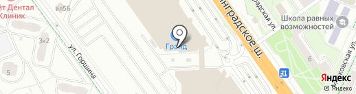 Corella-мебель на карте Химок