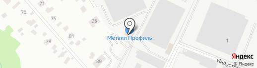 Титан на карте Лобни