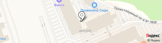 Восток Бизнес Групп на карте Румянцево