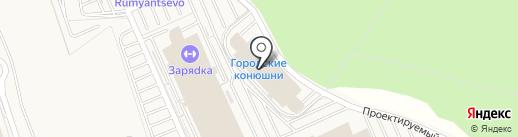 Benone на карте Румянцево