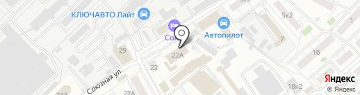 Специальная пожарная часть №14 на карте Химок