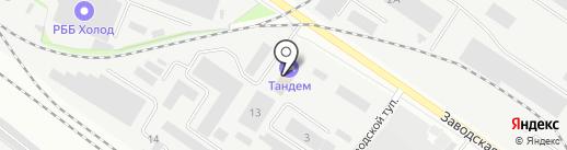 Сходненские окна на карте Химок
