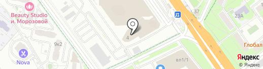 Сток-центр мебели на карте Химок
