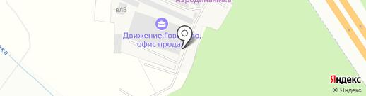 ИнПрокат на карте Москвы