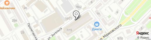 Бухгалтерская компания на карте Химок