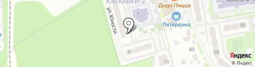 Битком на карте Лобни