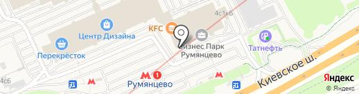 Burger King на карте Румянцево
