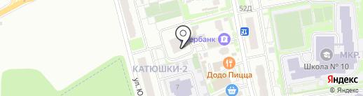 АСНА на карте Лобни