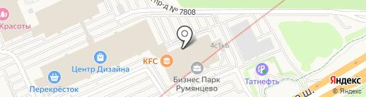 БЛОГ.РУ на карте Румянцево