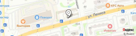 Магазин инструментов и сантехники на карте Лобни