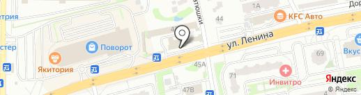 Платежный терминал на карте Лобни