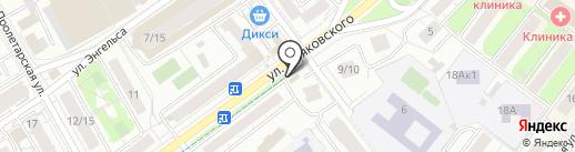 Магазин хлебобулочных изделий на карте Химок