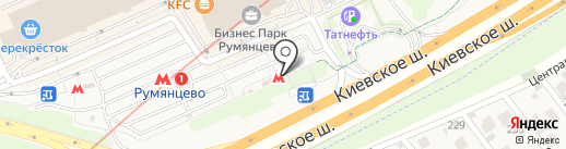 Банкомат, ВТБ Банк Москвы, ПАО Банк ВТБ на карте Румянцево