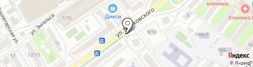 Магазин цветов на карте Химок