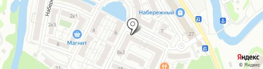 Клумба на карте Химок