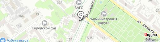 ЛюДи на карте Химок