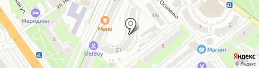Территориальное управление микрорайона Клязьма-Старбеево на карте Химок