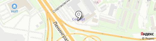 Белтайн-М на карте Химок