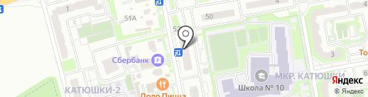 Изабель на карте Лобни
