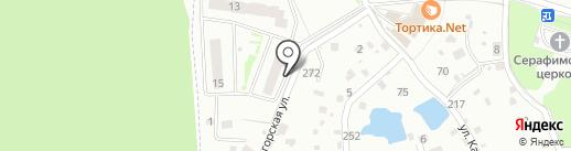 Катюшки на карте Лобни