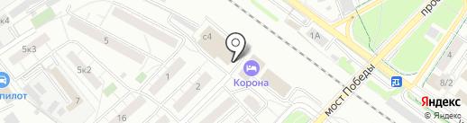 Союзный на карте Химок