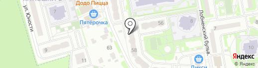 Слетать.ру на карте Лобни