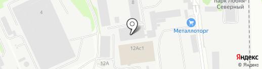 Демидов на карте Лобни